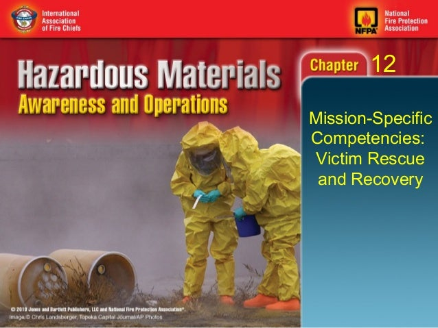 12Mission-SpecificCompetencies: Victim Rescue and Recovery