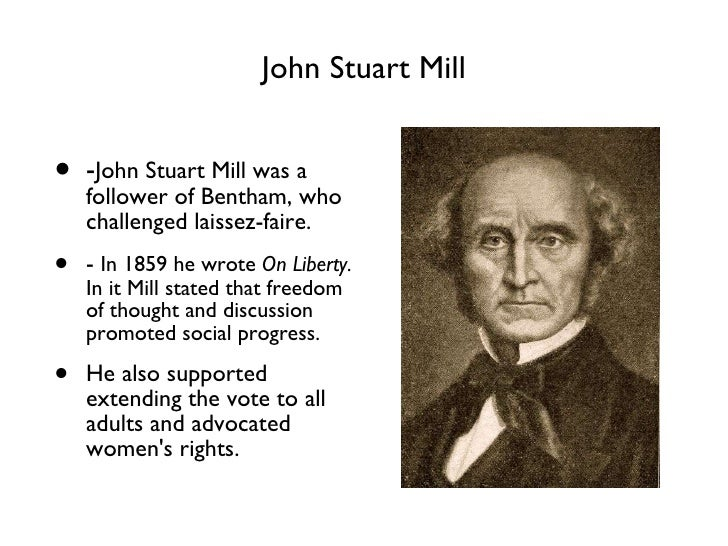 reaction paper about john stuart mill