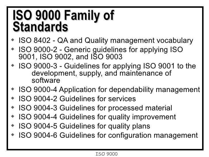 iso 9000 essay View this capstone project on iso 9000 and iso 14000 square root of foreign sales as a percentage of total sales.