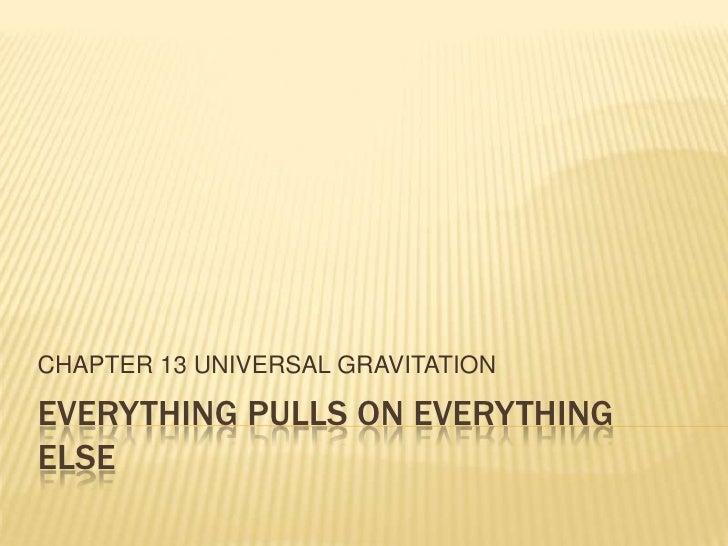 Ch 13 universal gravitation1