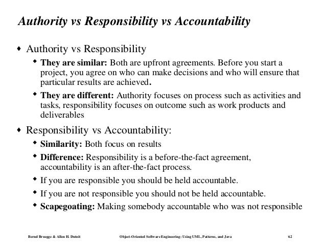 authority responsibility and accountability Enjoy our authority and responsibility quotes collection best authority and responsibility quotes selected by thousands of our users.