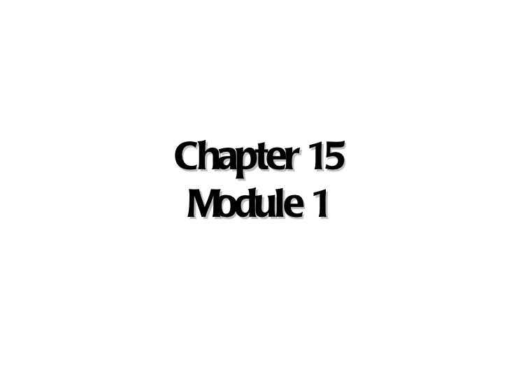 Chapter 15 - Supply Chain Management