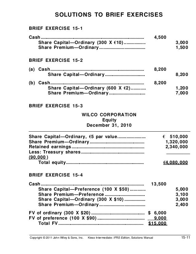 intermediate accounting chapter 10 exercise and brief exercises In this chapter, we discuss the proper accounting for the acquisition,  they  examine the notes to the financial statements  illustration 10-20 presents in  summary form the accounting  if the promise is conditional, the company  recognizes ex-  questions, brief exercises, exercises, problems, and.