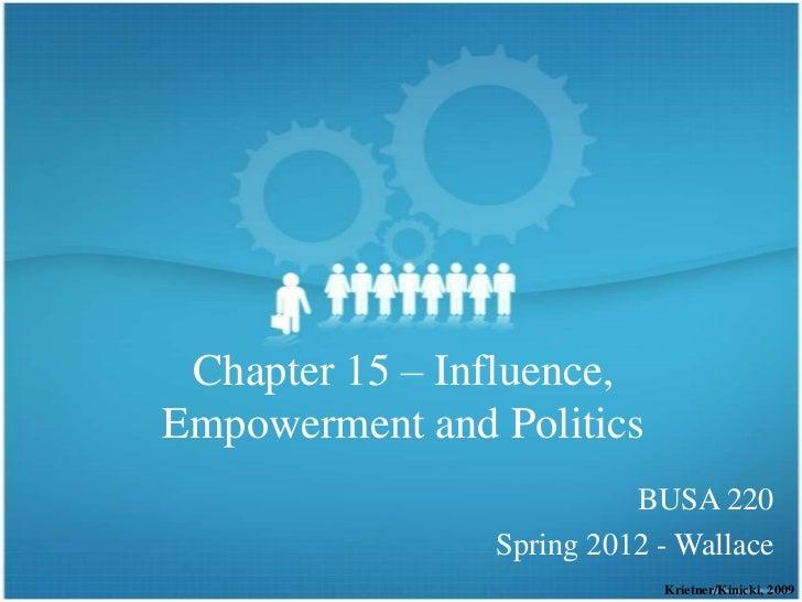 OB - Empowerment & Engagement
