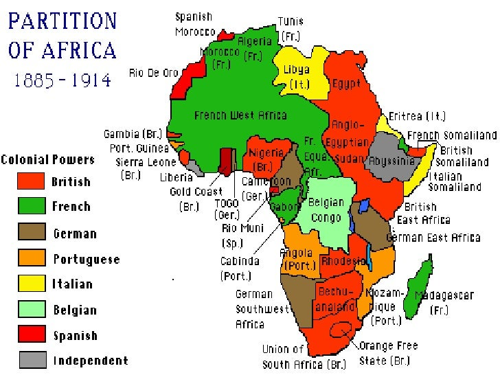 the impact of european colonization in africa during the late 1800s