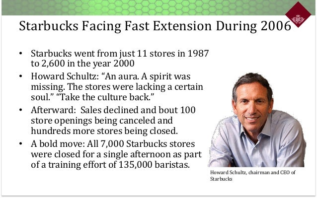 starbucks return to its roots How starbucks fought for its life to help starbucks return to its core values and be relevant to a new age while being true to its roots.