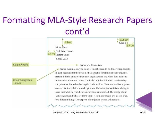mla style research paper examples