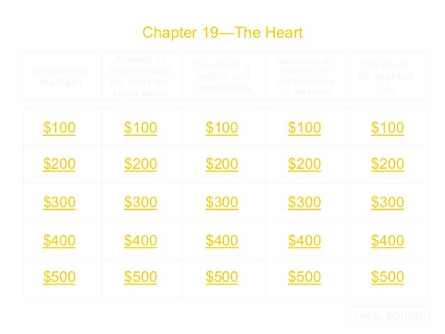 Chapter 19—The Heart Structure of the Heart  Pathway of Blood through the Heart and Heart Valves  Conducting System and In...