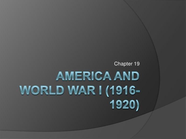 HIST_1302_CH_19_World War I