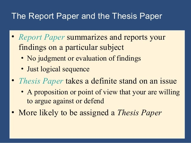 example of a thesis statement for a research paper