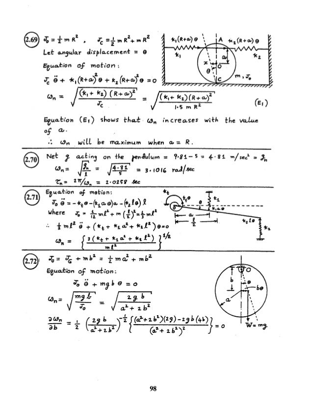 Shigley S Mechanical Engineering Design Th Solutions Ch