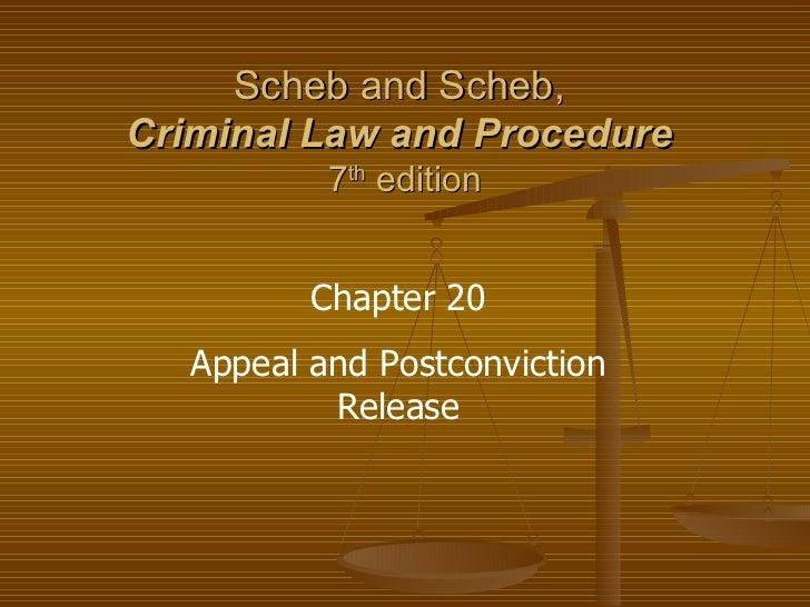 Ch 20 Appeals Process
