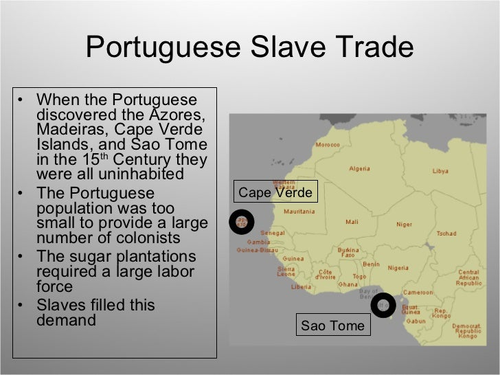 the slave trade in portugal history essay British involvement in the transatlantic slave trade  the first european nation to engage in the transatlantic slave trade was portugal in the mid to late 1400's.