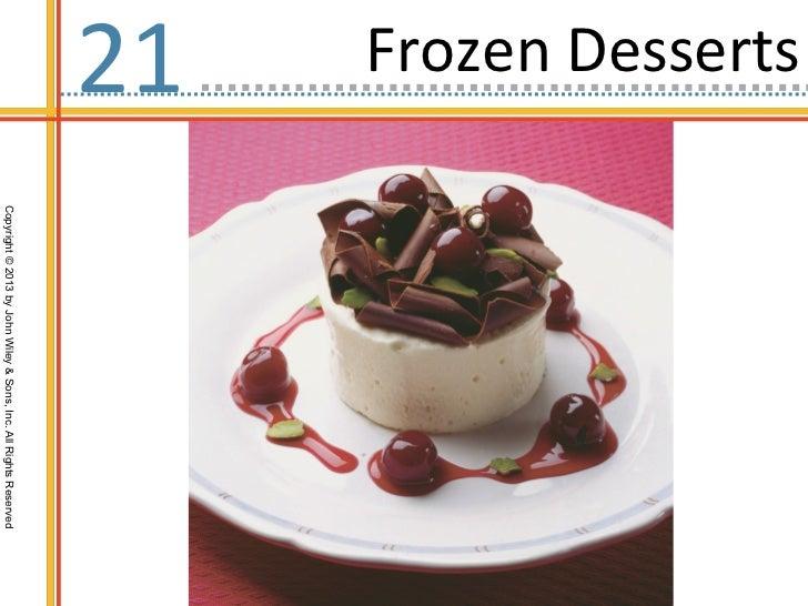 Ch21 frozen desserts