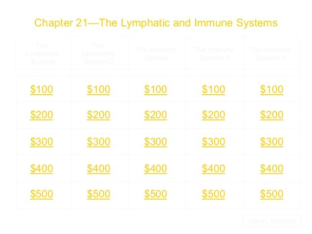 Chapter 21—The Lymphatic and Immune Systems The Lymphatic System  The Lymphatic System 2  The Immune System  The Immune Sy...