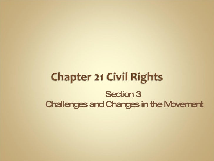 Civil Rights Part 5
