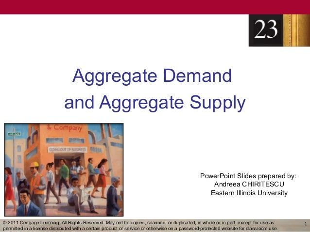 Aggregate Demand                             and Aggregate Supply                                                         ...