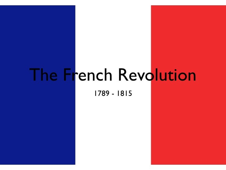 Ch 23 French Revolution Slides
