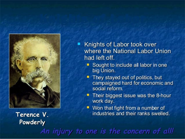 similarities and differences of samuel gompers and terence powderly Compare and contrast the similarities and differences between immigration during the gilded age and earlier time periods terence v powderly samuel gompers.