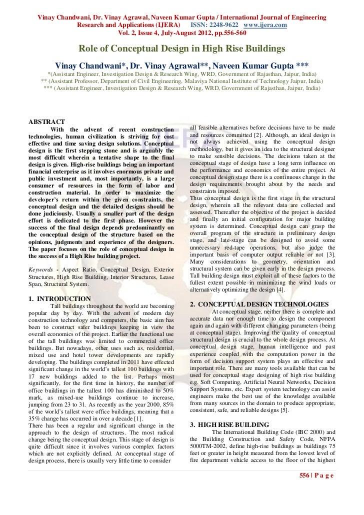 Vinay Chandwani, Dr. Vinay Agrawal, Naveen Kumar Gupta / International Journal of Engineering              Research and Ap...