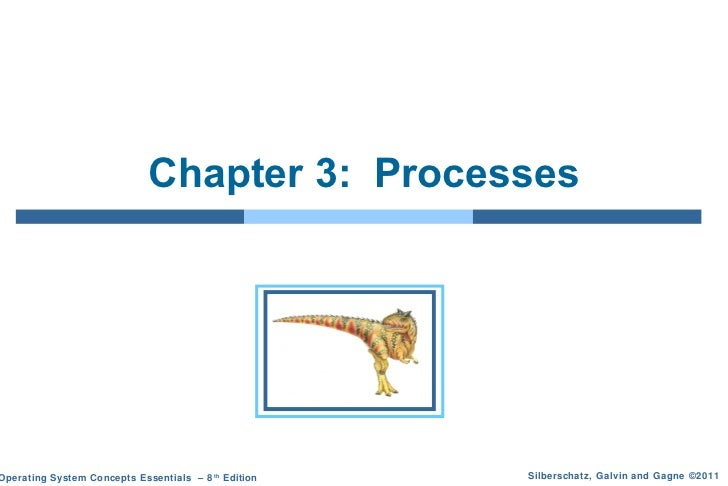 Chapter 3: ProcessesOperating System Concepts Essentials – 8 th Edition   Silberschatz, Galvin and Gagne ©2011