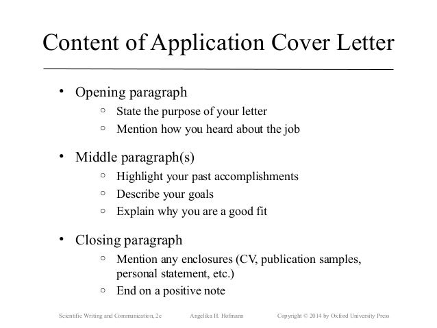 closing statement for cover letter