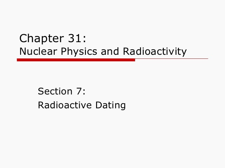 radioactive dating answers