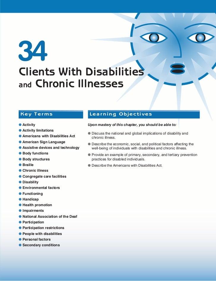 Ch34 Chronic Illness