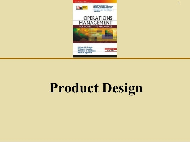 Ch4 product design