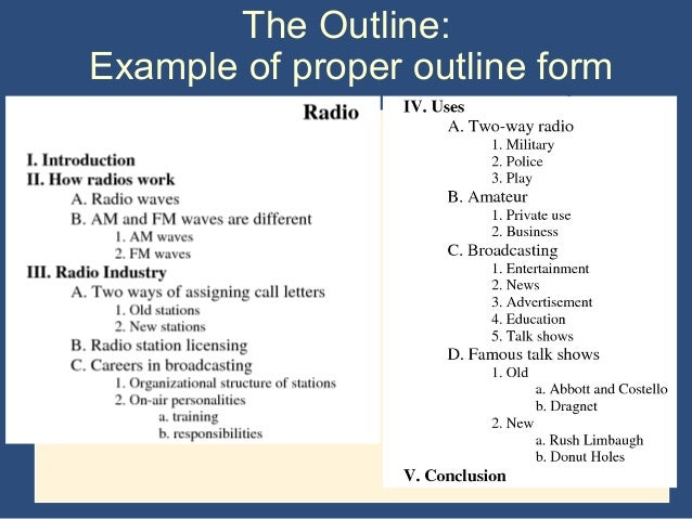 what is proper outline format for a research paper For any research paper, it is essential to know how to write an outline many research paper formats even require an outline, as an integral part of the paper.