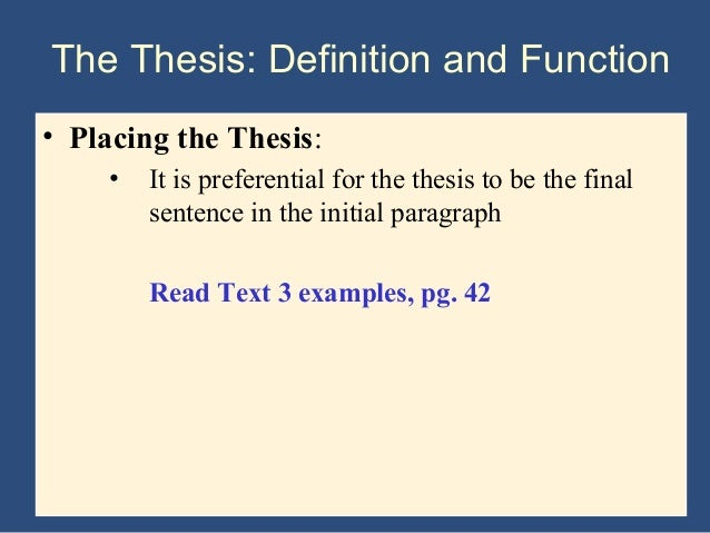 Thesis help? research paper due tmrw!?