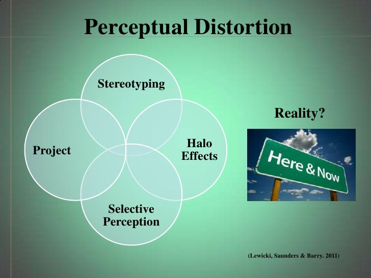 common perceptual distortions Perceptual contrast effect   consider whether the person who showed you the first thing is using it for the contrast effect see also halo effect,.