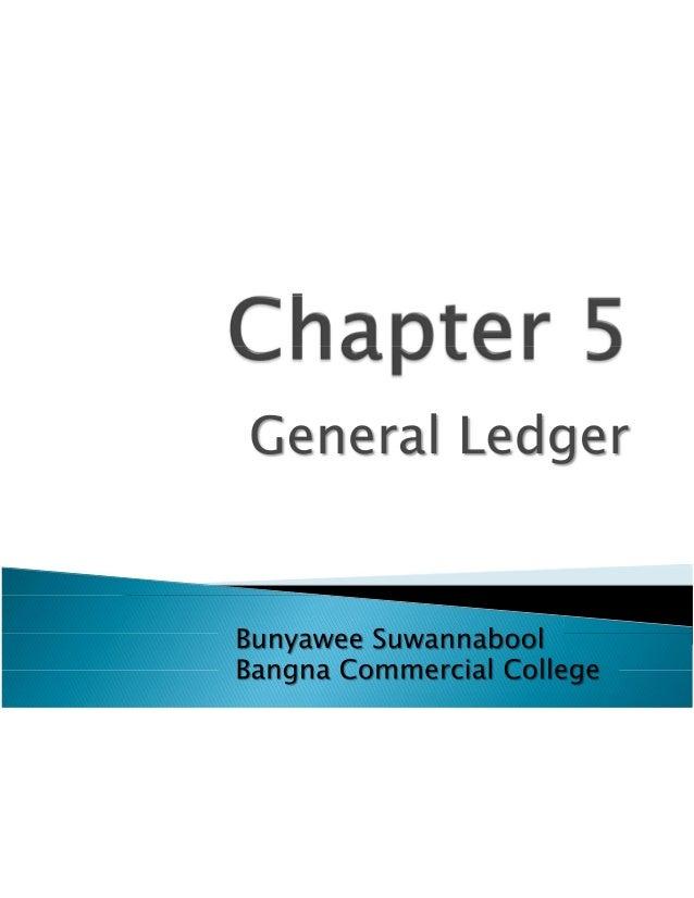 Ch5 General Ledger