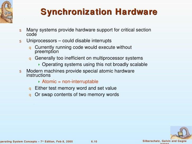 process synchronization in operating system pdf