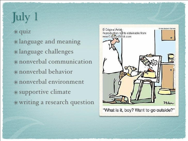 July 1  quiz  language and meaning  language challenges  nonverbal communication  nonverbal behavior  nonverbal environmen...