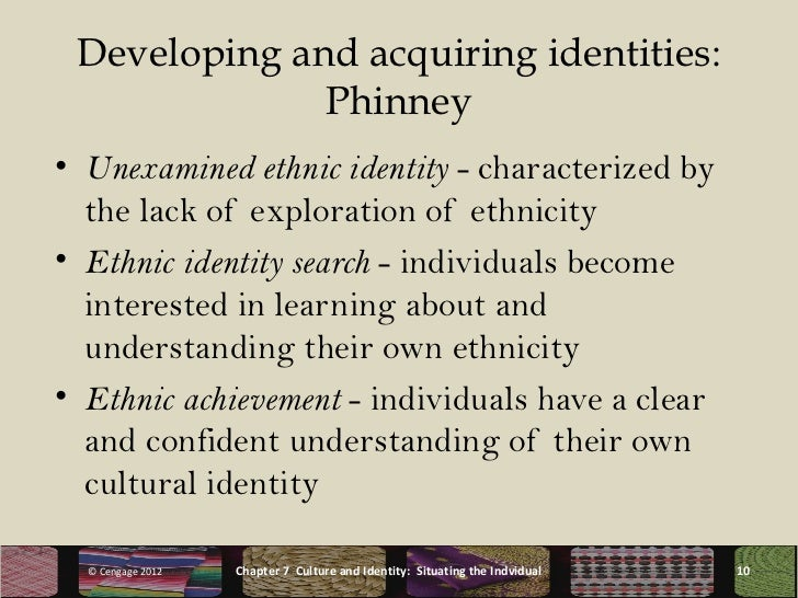 a paper on ethnicity and identity 2 what is ethnic identity and does it matter what is ethnic identity since the publication of donald horowitz's ethnic groups in conflict in 1985, there has been a convergence among comparative political scientists on which identities we.