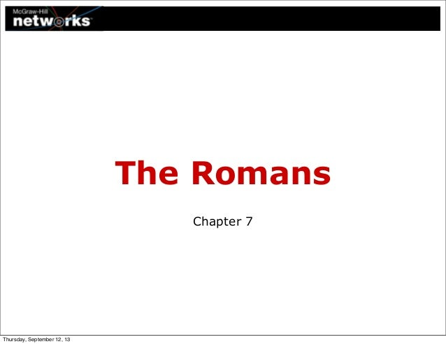 Ch7 - The Romans