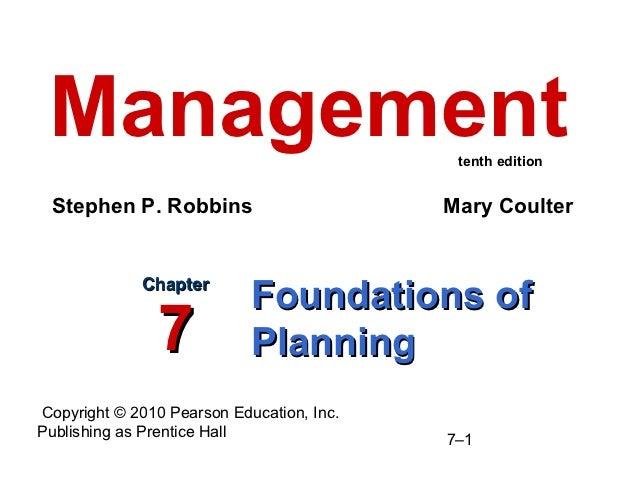 Ch7 planning