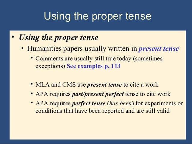 should essays be written in present tense Hi, i've heard that present tense should be used in writing a book report 1 could anyone let me know whether this is true 2 if the answer to q1 is yes, is it.