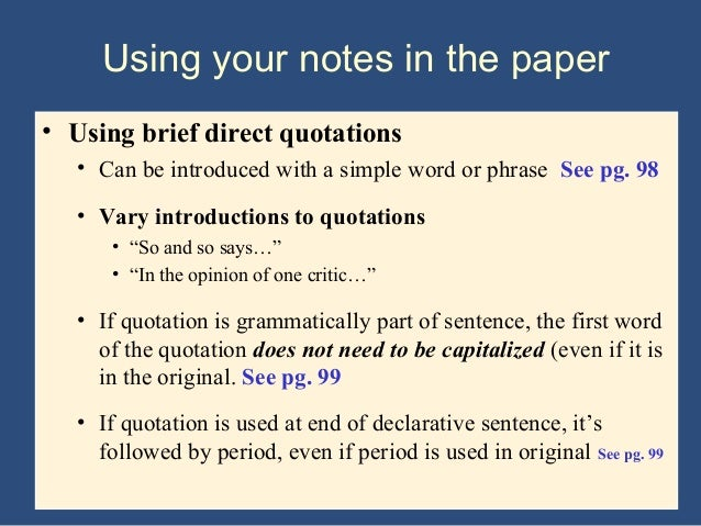 quote authors research paper