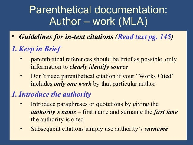 mla research paper introduction