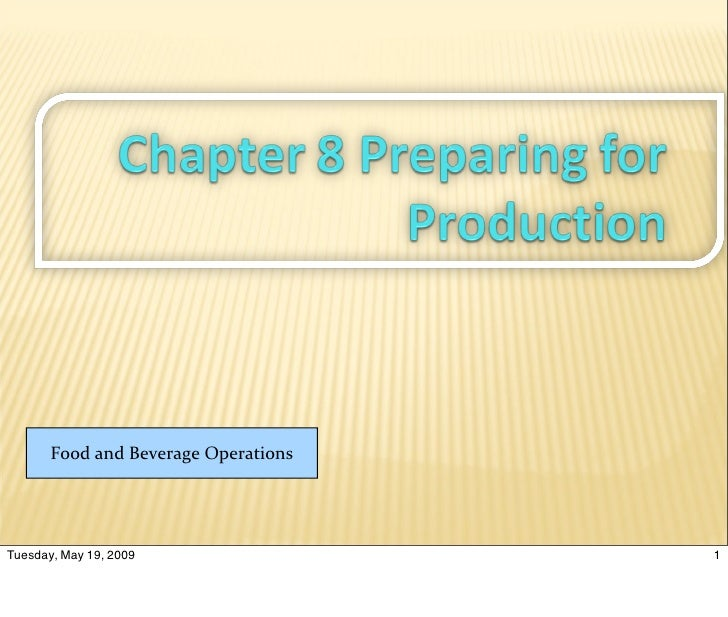 Cha8 Production