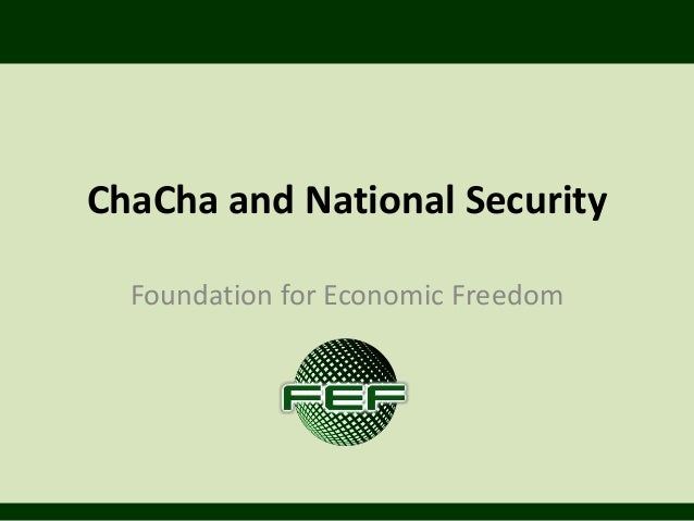 Charter Change and National Security 2.1