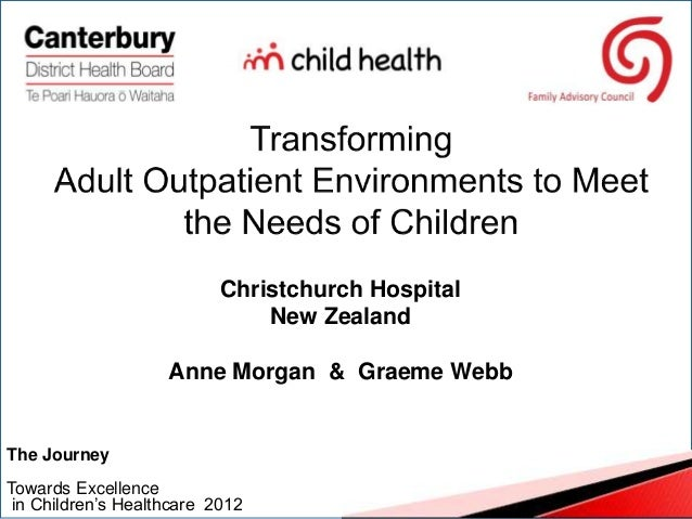 Anne Morgan & Gareme Webb - Transforming Adult Outpatient Environments to Meet the Needs of Children