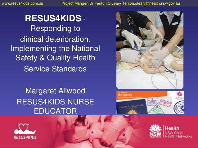 Margaret Allwood - RESUS4KIDS