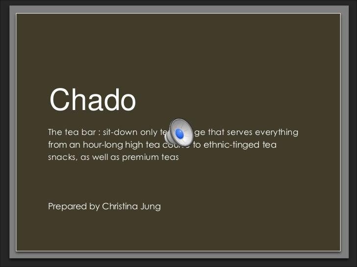 Chado christina jung
