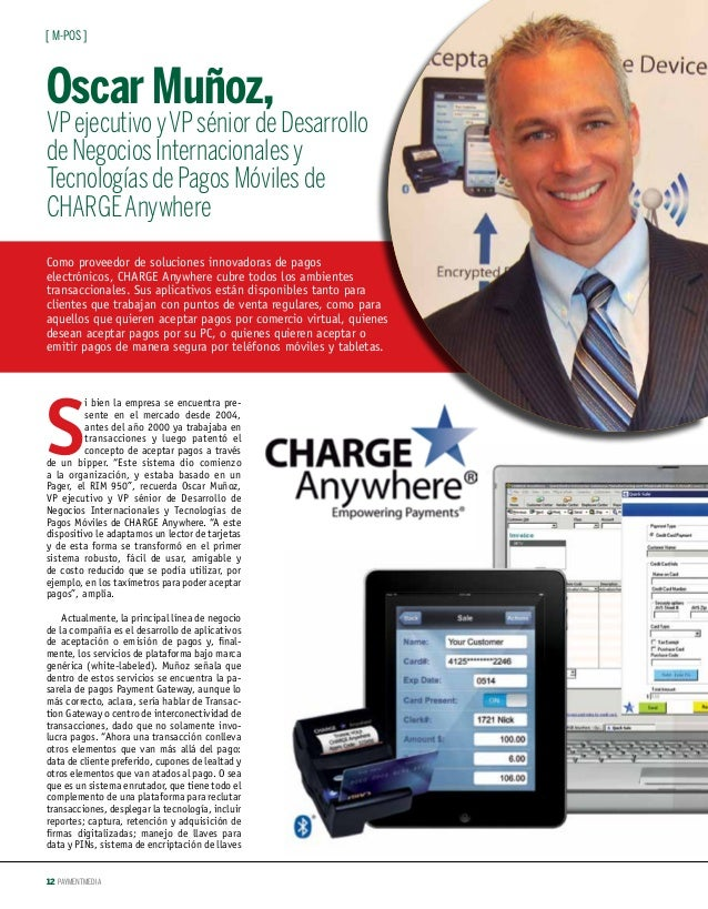 Secure mPOS Solutions Made Easy by CHARGE Anywhere
