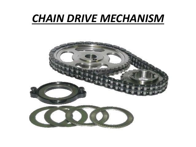 Chain Drive Mechanism 12 Chain Drive Mechanism