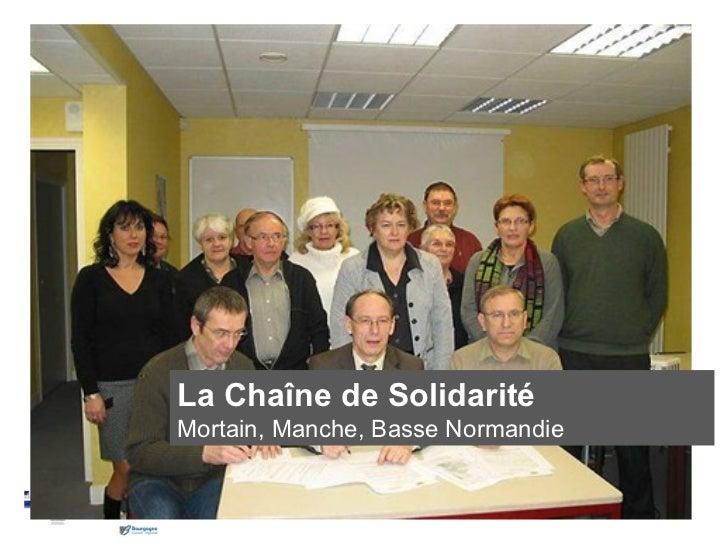 Commune de SalivesPays Seine et Tilles en Bourgogne                   La Chaîne de Solidarité                   Mortain, M...