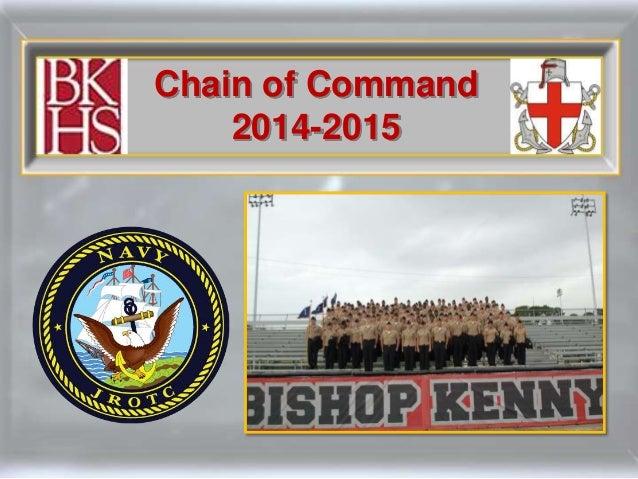 Bishop Kenny NJROTC Chain of Command 2014-15